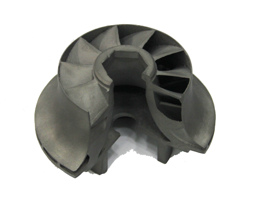 Metal 3D Printed Turbine Section