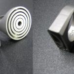 Metal 3d rings