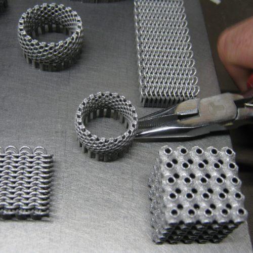 Metal 3d Printed jewellery