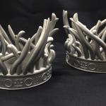 Metal 3D Printed Air Intake Ornament