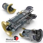 Turbines Metal 3D