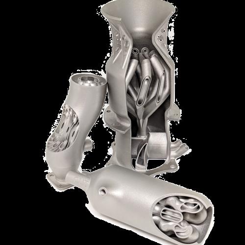 nozzle metal 3d printed