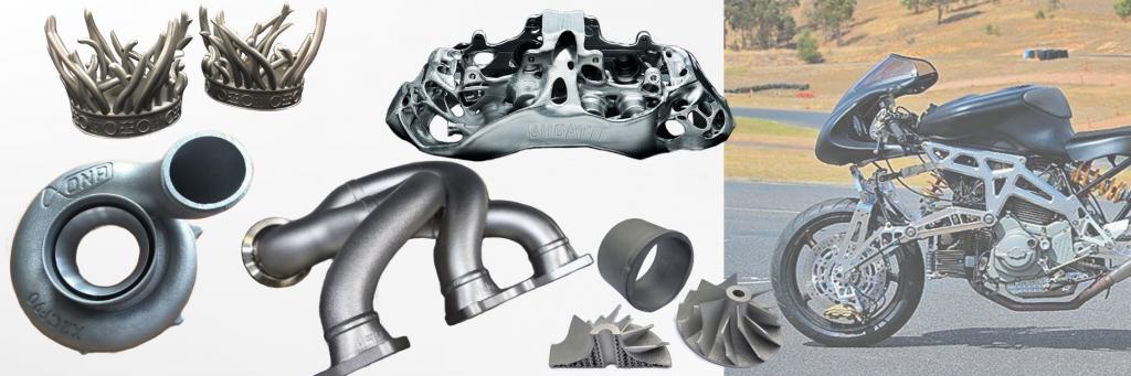 automotive metal 3d