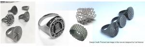 metal 3d jewellry