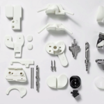 Metal 3d knee parts