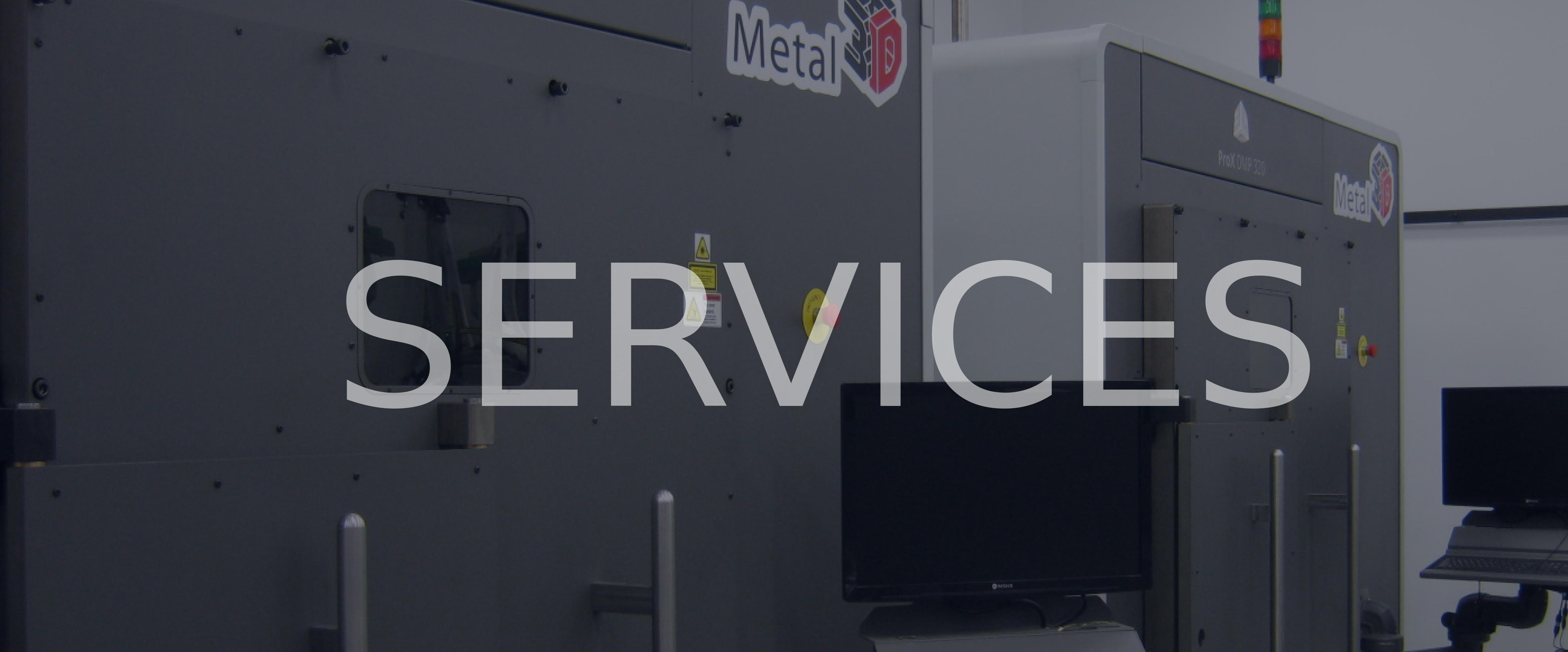 metal 3d printing services